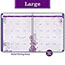 """AT-A-GLANCE® Beautiful Day Monthly Planner, 8 1/2"""" x 11"""", Purple, 2021 Thumbnail 4"""