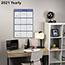 "AT-A-GLANCE® Vertical/Horizontal Erasable Wall Planner, 24"" x 36"", 2021 Thumbnail 6"