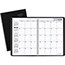 AT-A-GLANCE® DayMinder® Monthly Planner, 8 x 11-7/8, Black, 2020-2021 Thumbnail 1