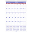 AT-A-GLANCE® Monthly Wall Calendar with Ruled Daily Blocks, 15 1/2 x 22 3/4, White, 2020-2021 Thumbnail 1