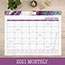 "Cambridge® Agate Desk Pad, 22"" x 17"", Purple Thumbnail 5"