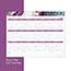"Cambridge® Agate Desk Pad, 22"" x 17"", Purple Thumbnail 3"