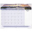"""AT-A-GLANCE® Images of the Sea Monthly Desk Pad Calendar, 22"""" x 17"""", 2021 Thumbnail 1"""