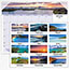 """AT-A-GLANCE® Images of the Sea Monthly Desk Pad Calendar, 22"""" x 17"""", 2021 Thumbnail 4"""