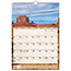 """AT-A-GLANCE® Scenic Monthly Wall Calendar, 12"""" x 17"""", 2021 Thumbnail 1"""