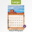 """AT-A-GLANCE® Scenic Monthly Wall Calendar, 15 1/2"""" x 22 3/4"""", 2021 Thumbnail 5"""