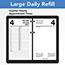 "AT-A-GLANCE® Large Desk Calendar Refill, 4 1/2"" x 8"", White, 2022 Thumbnail 4"
