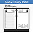 "AT-A-GLANCE® Desk Calendar Refill, 3 1/2"" x 6"", White, 2021 Thumbnail 4"