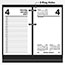 "AT-A-GLANCE® Desk Calendar Refill, 3 1/2"" x 6"", White, 2021 Thumbnail 3"
