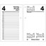 """AT-A-GLANCE® Recycled Desk Calendar Refill, 3 1/2"""" x 6"""", White, 2021 Thumbnail 1"""