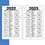 """AT-A-GLANCE® Recycled Desk Calendar Refill, 3 1/2"""" x 6"""", White, 2021 Thumbnail 2"""