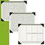"AT-A-GLANCE® Executive Monthly Desk Pad Calendar, 22"" x 17"", Buff, 2021 Thumbnail 2"