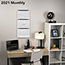 """AT-A-GLANCE® Contemporary Three-Monthly Reference Wall Calendar, 12"""" x 27 1/8"""", 2021-2022 Thumbnail 4"""
