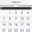 """AT-A-GLANCE® Contemporary Three-Monthly Reference Wall Calendar, 12"""" x 27 1/8"""", 2021-2022 Thumbnail 2"""