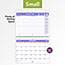 """AT-A-GLANCE® Wirebound Monthly Desk/Wall Calendar, 11"""" x 8 1/2"""", 2021 Thumbnail 4"""