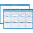 "AT-A-GLANCE® Horizontal Erasable Wall Planner, 36"" x 24"", Blue/White, 2021 Thumbnail 1"