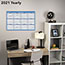 "AT-A-GLANCE® Horizontal Erasable Wall Planner, 36"" x 24"", Blue/White, 2021 Thumbnail 6"