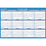 "AT-A-GLANCE® Horizontal Erasable Wall Planner, 36"" x 24"", Blue/White, 2021 Thumbnail 3"