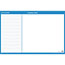 "AT-A-GLANCE® Horizontal Erasable Wall Planner, 36"" x 24"", Blue/White, 2021 Thumbnail 2"