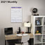 """AT-A-GLANCE® Monthly Wall Calendar with Ruled Daily Blocks, 12"""" x 17"""", White, 2021 Thumbnail 5"""