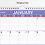 """AT-A-GLANCE® Monthly Wall Calendar with Ruled Daily Blocks, 12"""" x 17"""", White, 2021 Thumbnail 3"""