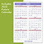 """AT-A-GLANCE® Monthly Wall Calendar with Ruled Daily Blocks, 12"""" x 17"""", White, 2021 Thumbnail 2"""