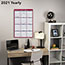 """AT-A-GLANCE® Erasable Vertical/Horizontal Wall Planner, 24"""" x 36"""", Blue/Red, 2021 Thumbnail 6"""