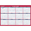"""AT-A-GLANCE® Erasable Vertical/Horizontal Wall Planner, 24"""" x 36"""", Blue/Red, 2021 Thumbnail 2"""