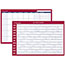 """AT-A-GLANCE® Horizontal Erasable Wall Planner, 36"""" x 24"""", White/Red, 2021 Thumbnail 1"""