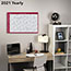 """AT-A-GLANCE® Horizontal Erasable Wall Planner, 36"""" x 24"""", White/Red, 2021 Thumbnail 5"""