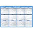 """AT-A-GLANCE® Erasable Vertical/Horizontal Wall Planner, 32"""" x 48"""", Blue/Red, 2021 Thumbnail 1"""