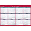 """AT-A-GLANCE® Erasable Vertical/Horizontal Wall Planner, 32"""" x 48"""", Blue/Red, 2021 Thumbnail 3"""