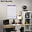 "AT-A-GLANCE® Monthly Wall Calendar with Ruled Daily Blocks, 15 1/2"" x 22 3/4"", White, 2021 Thumbnail 5"