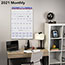 """AT-A-GLANCE® Monthly Wall Calendar with Ruled Daily Blocks, 20"""" x 30"""", White, 2021 Thumbnail 5"""