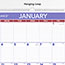 """AT-A-GLANCE® Monthly Wall Calendar with Ruled Daily Blocks, 20"""" x 30"""", White, 2021 Thumbnail 3"""