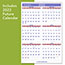 """AT-A-GLANCE® Monthly Wall Calendar with Ruled Daily Blocks, 20"""" x 30"""", White, 2021 Thumbnail 2"""