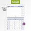 "AT-A-GLANCE® QuickNotes Desk/Wall Calendar, 11"" x 8"", 2021 Thumbnail 4"