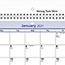 "AT-A-GLANCE® QuickNotes Desk/Wall Calendar, 11"" x 8"", 2021 Thumbnail 3"