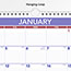 """AT-A-GLANCE® Monthly Wall Calendar, 15"""" x 12"""", Red/Blue, 2021 Thumbnail 3"""