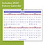 """AT-A-GLANCE® Monthly Wall Calendar, 15"""" x 12"""", Red/Blue, 2021 Thumbnail 2"""
