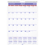 "AT-A-GLANCE® Recycled Monthly Academic Wall Calendar, Page Size 12"" x 17"", 12 Months (July-June), 2021-2022 Thumbnail 1"