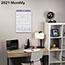 "AT-A-GLANCE® Erasable Wall Calendar, 15 1/2"" x 22 3/4"", White, 2021 Thumbnail 4"