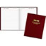 """AT-A-GLANCE® Standard Daily Diary, Recycled, Red, 7 1/2"""" x 9 7/16"""", 2021 Thumbnail 1"""