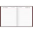 """AT-A-GLANCE® Standard Daily Diary, Recycled, Red, 7 1/2"""" x 9 7/16"""", 2021 Thumbnail 2"""