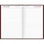 """AT-A-GLANCE® Standard Diary Daily Diary, Recycled, Red, 7 11/16"""" x 12 1/8"""", 2021 Thumbnail 2"""