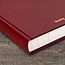 """AT-A-GLANCE® Standard Diary Recycled Daily Journal, Red, 7 11/16"""" x 12 1/8"""", 2022 Thumbnail 5"""