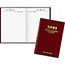"""AT-A-GLANCE® Standard Diary Recycled Daily Reminder, Red, 5 3/4"""" x 8 1/4"""", 2021 Thumbnail 1"""