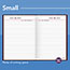 """AT-A-GLANCE® Standard Diary Recycled Daily Reminder, Red, 5 3/4"""" x 8 1/4"""", 2021 Thumbnail 6"""