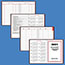 """AT-A-GLANCE® Standard Diary Recycled Daily Reminder, Red, 5 3/4"""" x 8 1/4"""", 2021 Thumbnail 4"""