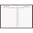 """AT-A-GLANCE® Standard Diary Recycled Daily Reminder, Red, 5 3/4"""" x 8 1/4"""", 2021 Thumbnail 2"""
